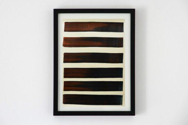 Contemporary canvas multi-layer graphic art II 1