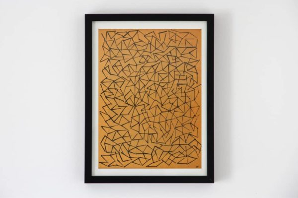 contemporary art graphic ink kraft TC30_1